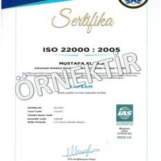 ISO 22000-2005 GIDA GÜVENLİĞİ
